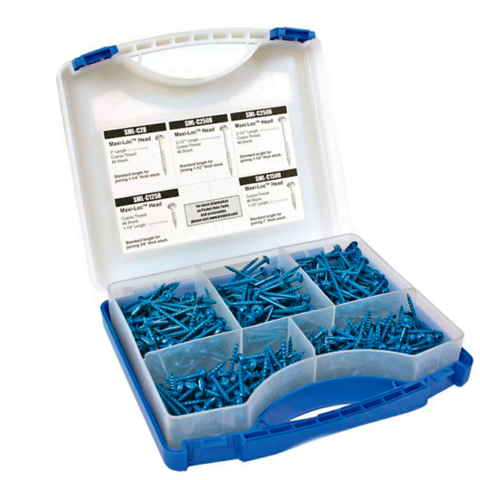 Набор шурупов (450 шт.) в пластиковом чемодане SK03B