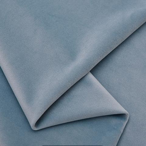 Бархат матовый голубой оптом. Ш-280 см. Арт. 777-76