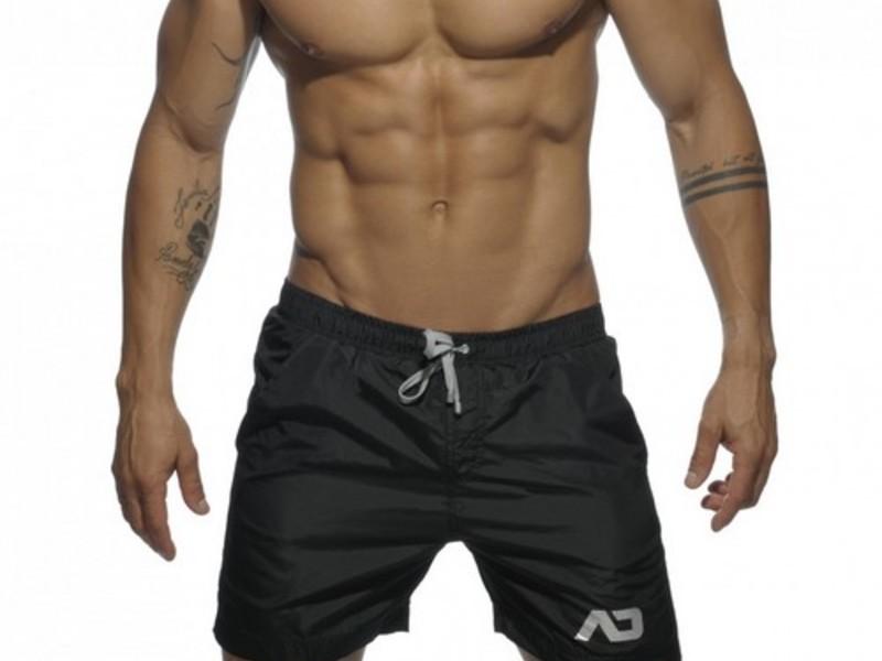 Мужские шорты удлиненные черные Addicted Sport Shorts Black