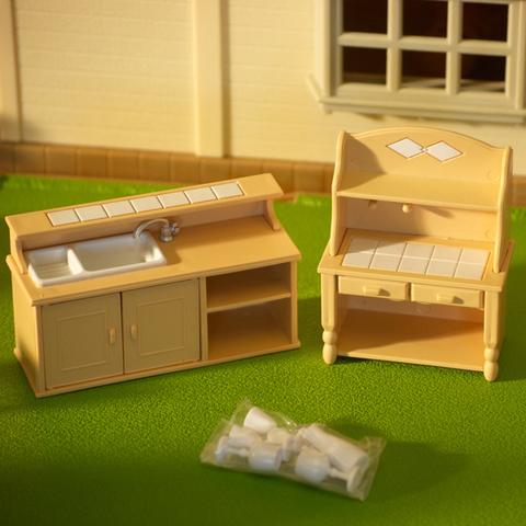 Набор игрушечной мебели для кухни Happy family 012-03B (PT-00305)