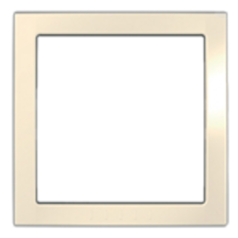 Рамка на 1 пост, декоративный элемент. Цвет Кремовый. Schneider electric Unica. MGU4.000.59