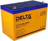 Аккумулятор Delta DTM 1290 L ( 12V 90Ah / 12В 90Ач ) - фотография