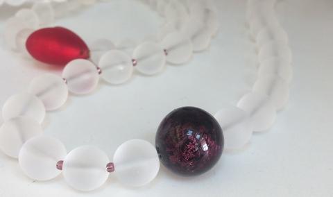 Ожерелье Satinato цвет Amethyst