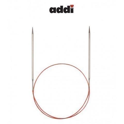 Спицы Addi круговые с удлиненным кончиком для тонкой пряжи 100 см, 3.75 мм