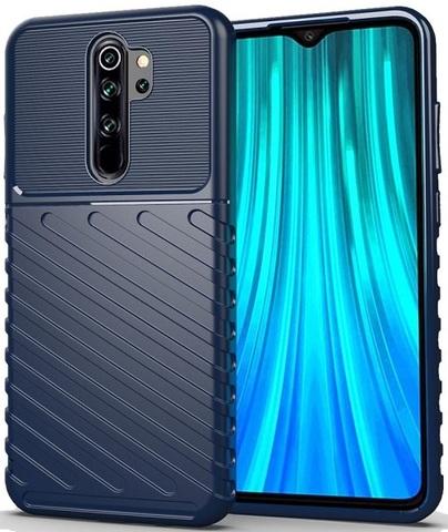Чехол Xiaomi Redmi Note 8 Pro цвет Blue (синий), серия Onyx, Caseport