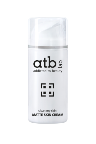 Матирующий крем Matte skin cream