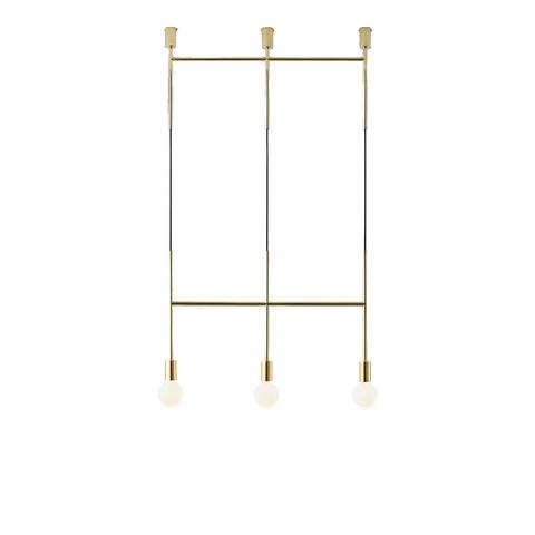 Потолочный светильник копия Triple Step by Volker Haug (золотой)