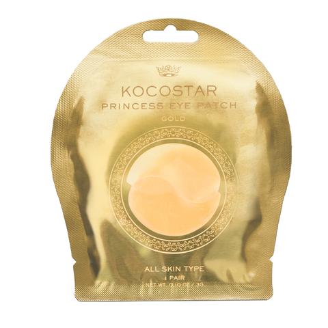 KOCOSTAR | Гидрогелевые патчи для глаз ( 2 патчей/1 пар), 3г (Золотые)