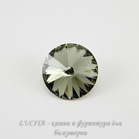1122 Rivoli Ювелирные стразы Сваровски Black Diamond (12 мм) ()