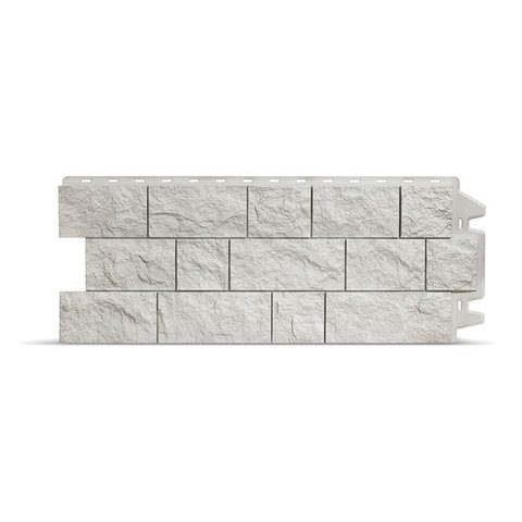 Фасадная панель Деке Скала 1052х425 мм Арктик