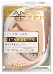 Tangle Teezer Compact Styler Rose Gold Luxe расческа для волос