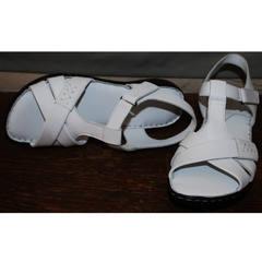 Белые сандали Evromoda 15 White.