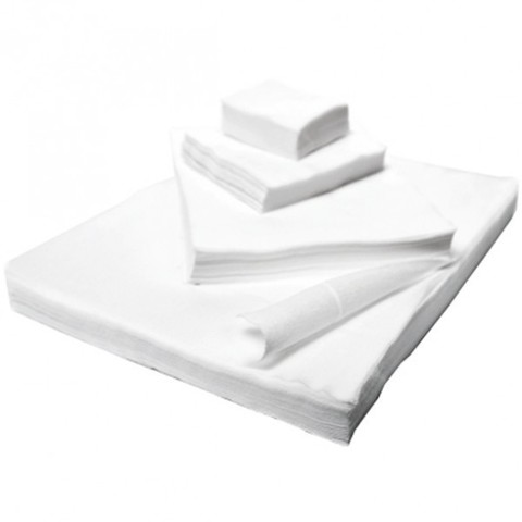 Салфетки спанлейс 20х20 см, 100 шт.