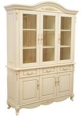 Книжный шкаф Милано (MK-1863-IV) Слоновая кость
