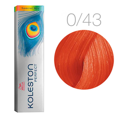Wella Koleston Perfect Special Mix 0/43 (Красно-золотистый) - Краска для волос
