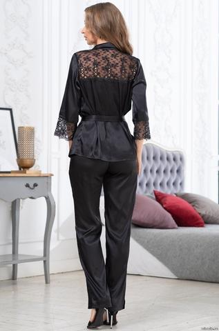 Комплект брючный 2 предмета  Mia-Amore EDITA ЭДИТА 3676 черный