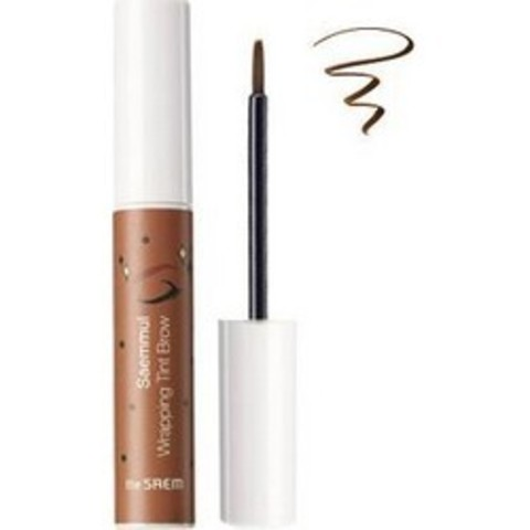 THE SAEM EYE Тинт для бровей Saemmul Wrapping Tint Brow BR01 Natural Brown 10гр
