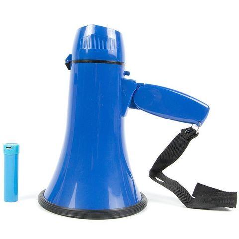 ЭМ-10А громкоговоритель ручной  10Вт, сирена, Li аккумулятор