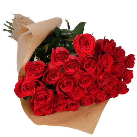 Букет из 25 роз (1 метр)