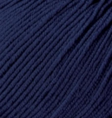 Пряжа Baby wool ( Alize) 58 Темно-синий - фото