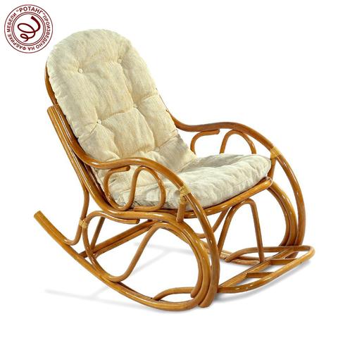 Кресло-качалка с подножкой Cappuccino