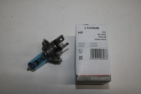 Лампа H4 12V 60/55W Super white LYNXauto L10460B (1)