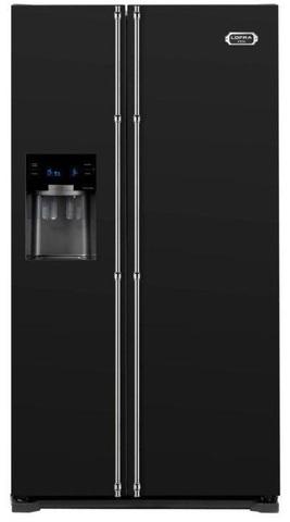 Холодильник LOFRA GFRBi 619 Black (фурнитура - бронза)