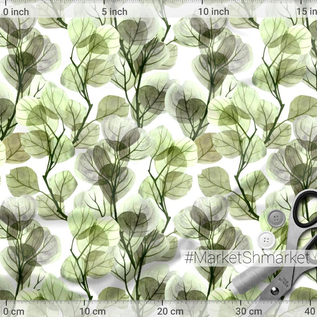 Стеклянные зеленые ветви