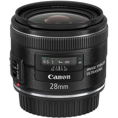 Объектив Canon EF 28mm f/2.8 Black для Canon