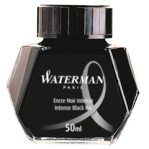 Флакон с чернилами Waterman для перьевой ручки Black (S0110710)