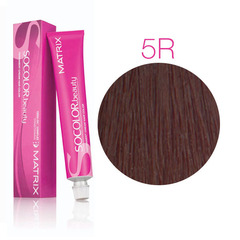 Matrix Socolor Beauty 5R Светлый шатен красный, стойкая крем-краска для волос