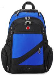 Швейцарский рюкзак 8810 USB СИНИЙ