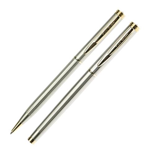 Набор подарочный Pierre Cardin Pen&Pen - Chrome GT, шариковая ручка + ручка-роллер, M
