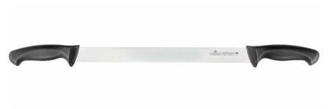 Нож для сыра с двумя ручками 350 мм Colour Luxstahl