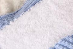 Зимний конверт-одеяло Косичка бирюза