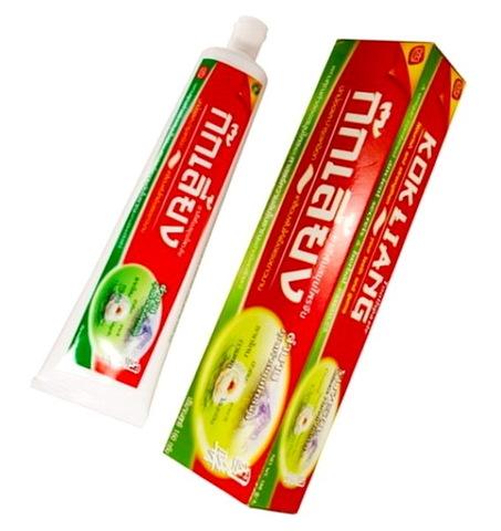 Травяная зубная паста KOKLIANG, 100 гр