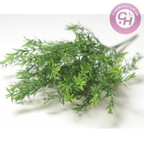 Искусственная зелень Аспарагус, букет 5 веток, 40 см.
