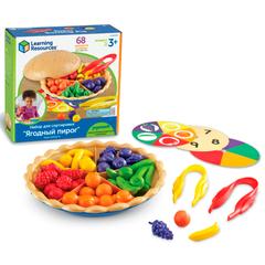 LSP-6216-SEN Набор для сортировки Ягодный пирог Learning Resources