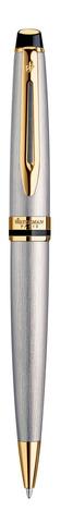 Набор шариковая ручка Expert 3 Essential, цвет: Stainless Steel GT  с чехлом123