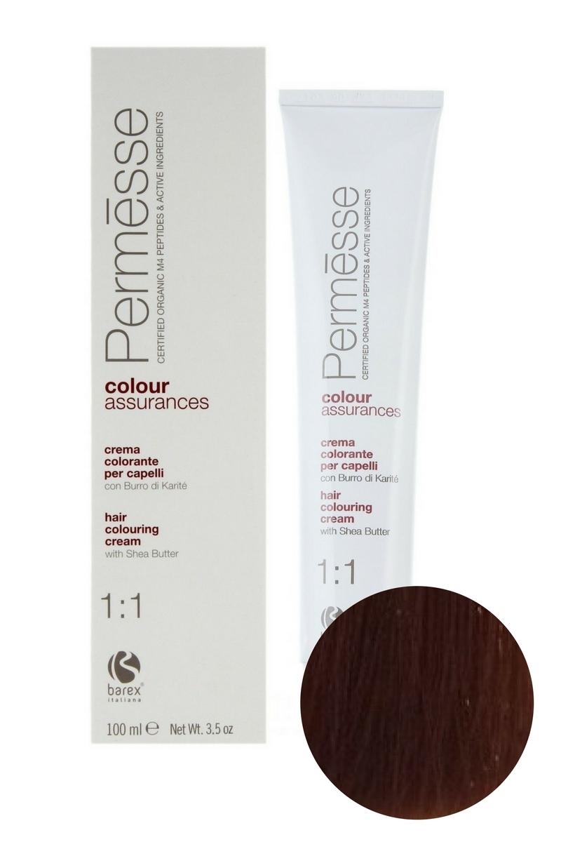 Крем-краска для волос 7.4 Блондин медный Permesse, Barex