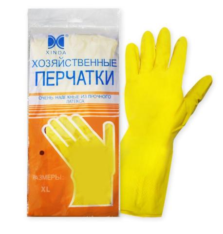 Перчатки резиновые Латекс XL