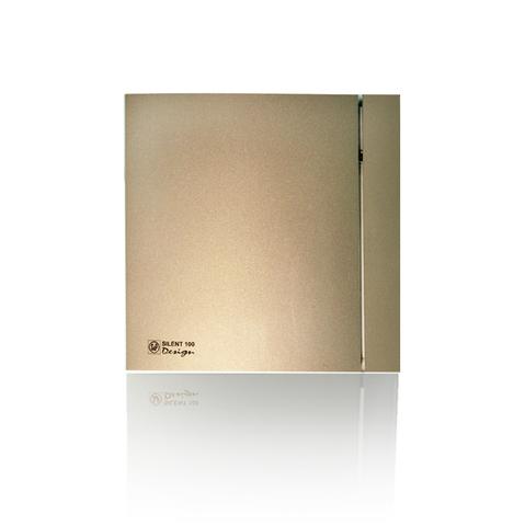 Накладной вентилятор Soler & Palau SILENT-200 CRZ DESIGN-4С CHAMPAGNE  (таймер)