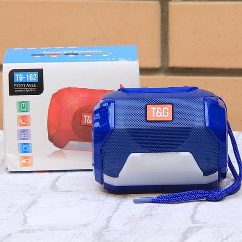 Колонка Bluetooth TG-162-2 Light Show (цвет ассорти)