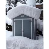 Пластиковый сарай Keter Manor Pent Double Door 6x5 фута