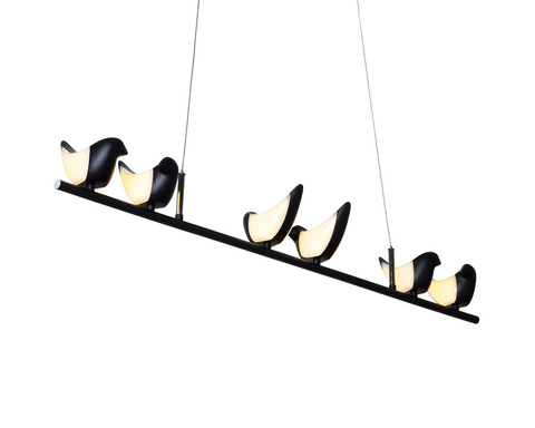 люстра Creative Bird Chandelier 6L