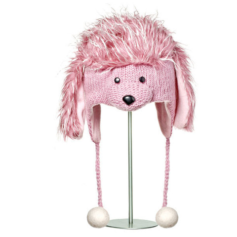 Картинка шапка с ушами Knitwits Precious the Poodle