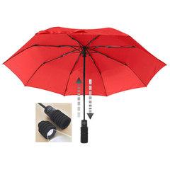 Зонт Euroschirm Light Trek Automatic с фонариком Red
