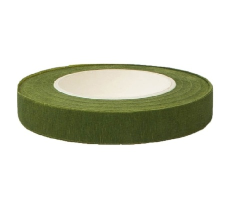 Тейп Лента 13мм*28м, цвет:зеленая, Китай