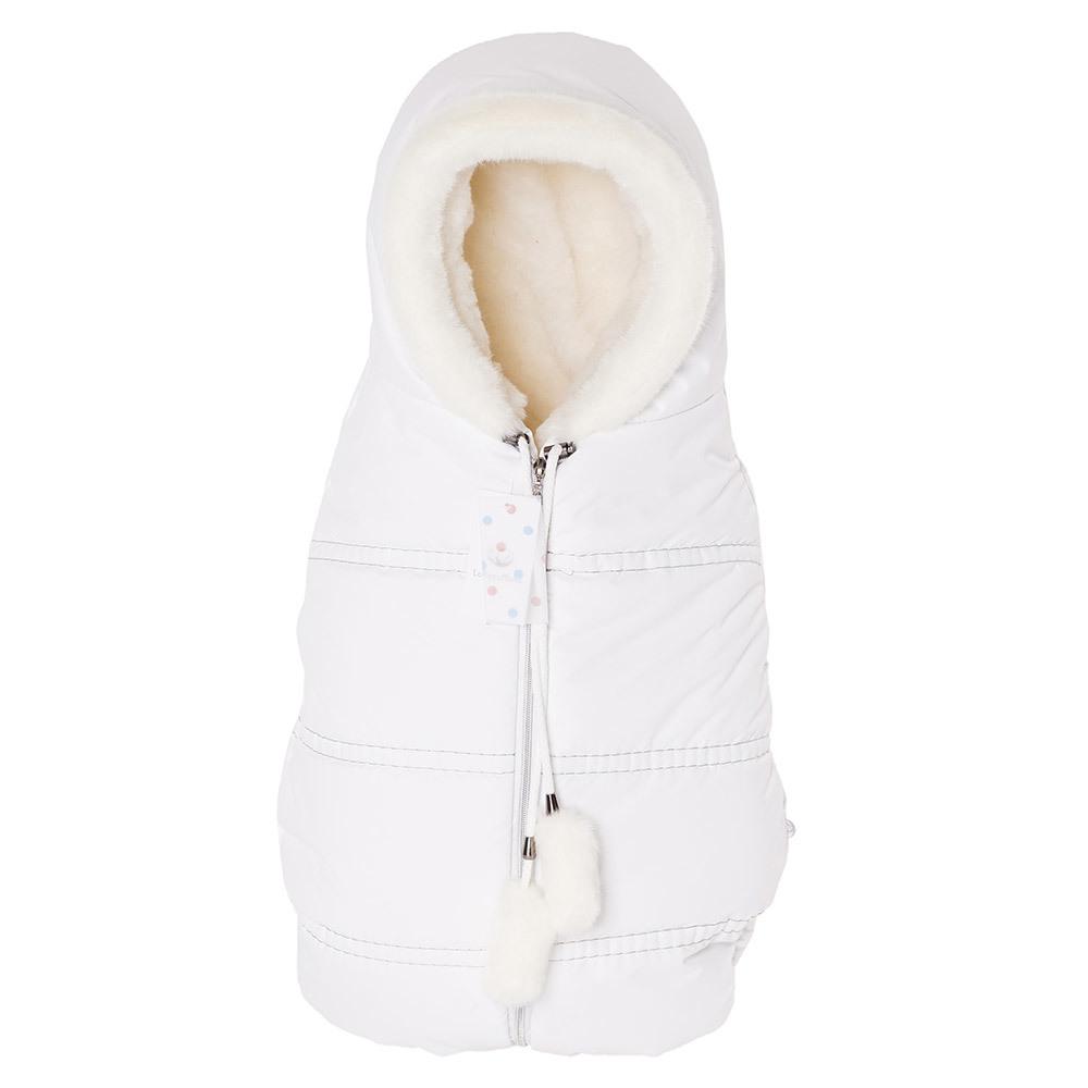 Конверты Lollycottons Конверт кокон для новорожденных Lollycottons белый Конверт-КОКОН--Lolly-cotons---MAXI-SAVE_-белый-1.jpg
