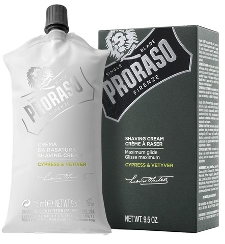 Крем для бритья Proraso Cypres & Vetiver